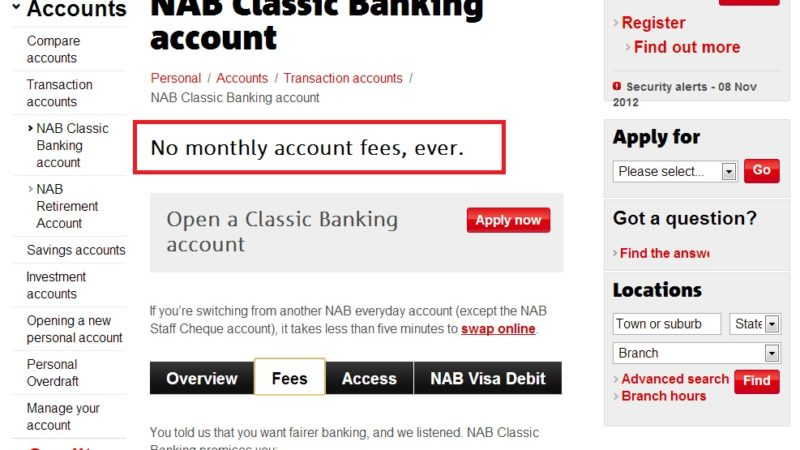 Serious? Who Pays Bank Fees?!!