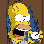 No beer and no TV make Homer something something
